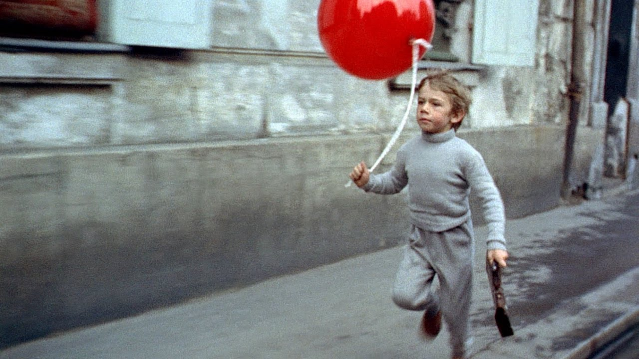 """an introduction to the movie the red balloon February 6, 2014 the red balloon the movie, """"the red balloon"""" follows the adventures of a young boy who one day finds red balloon i felt that inanimate object can be organism by putting emotion in the red balloon."""