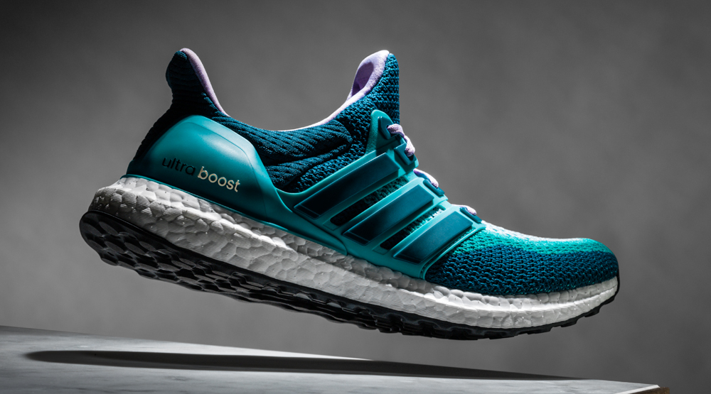 UltraBOOST, made entirely out of plastics pulled from the ocean.