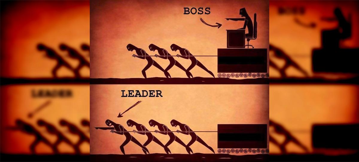 Image result for boss v leader